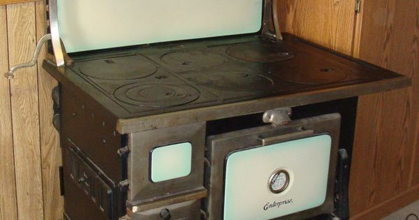 Antique Cast Iron Wood Cook Stove Early 1900s Stove