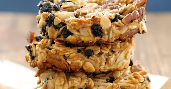 blueberry coconut pecan breakfast cookies | gluten free and sugar free I