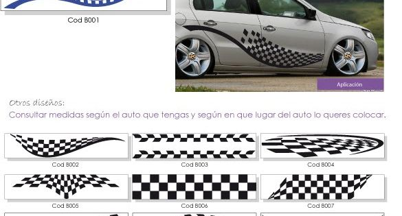 Franjas para autos tuning - Imagui | Cosas que comprar | Pinterest ...