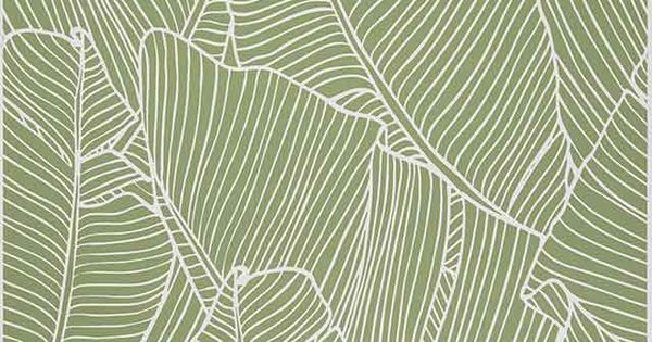 papier peint vinyle sur intiss vert bananier castorama art motifs pinterest. Black Bedroom Furniture Sets. Home Design Ideas
