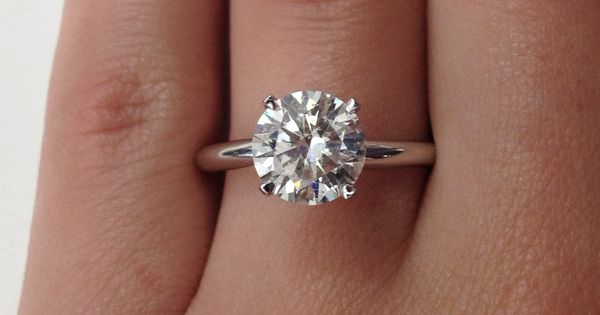 Let's face it. Engagement rings aren't cheap, and some women love big