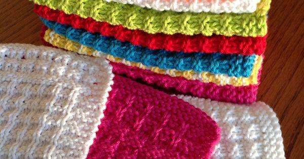 Waffle Knitting Pattern Dishcloth : Waffle Knit Dishcloth By Debbie Andriulli - Free Knitted Pattern - (ravelry) ...
