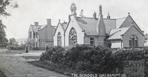 The Schools Bathampton C 1910 Bath Somerset Old Photos Photo