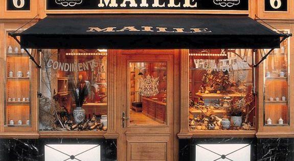 Facade From Maille Shop French Most Famous Mustard Brand Where 6 Place De La Madeleine Paris 8th Paris Shopping Paris French Boutique