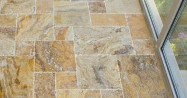Scabos Travertine Tile Versailles Pattern Set Unfilled Brushed Chiseled Edge Http Www Amazon Com Dp B009saijco Ref Cm Sw R Tiles Travertine Travertine Tile