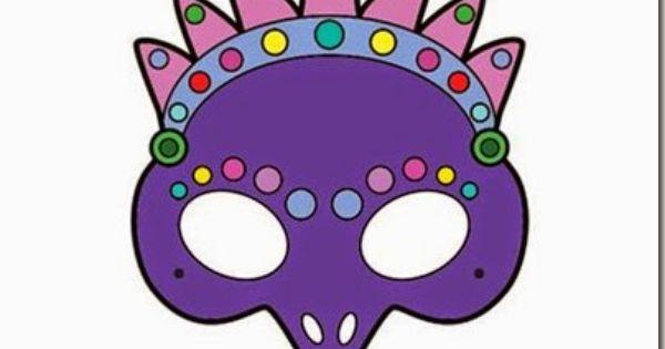Mascaras De Carnaval Mascara De Pavo Real Para Colorear Photo Props Free Printables Props