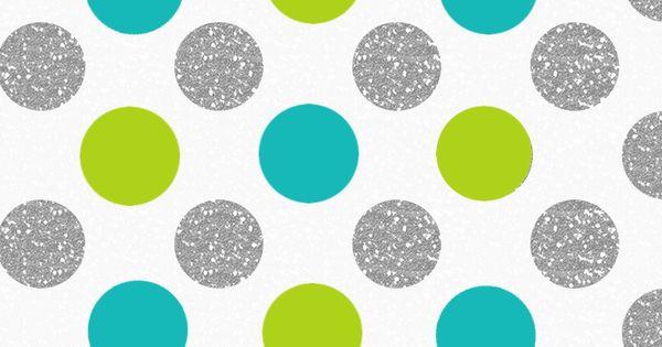 Silver Lime Jade Polka Dots Spots Iphone Wallpaper Phone
