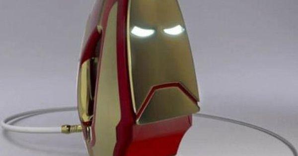 The real Iron Man iron