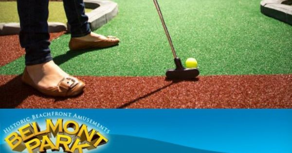 Groupon One Round Of Mini Golf For Two Or Four At Belmont Park Half Off Groupon Deal Price 9 00 Mini Golf Mini Golf Course Jungle Scene