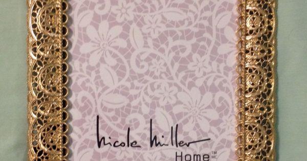 Nicole Miller 4x6 Picture Frame 7 99 Marshalls Frames