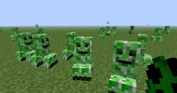 Baby Creepers Pack Minecraft Texture Pack Baby Creeper Creepers Texture Packs
