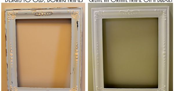 puffy paint on a picture frame - Google Search