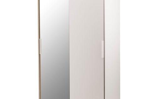 Morvik armoire penderie blanc miroir ikea largeur 120 - Armoire chambre 120 cm largeur ...