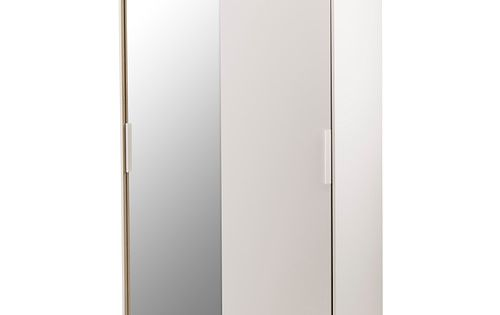 morvik armoire penderie blanc miroir ikea furniture. Black Bedroom Furniture Sets. Home Design Ideas