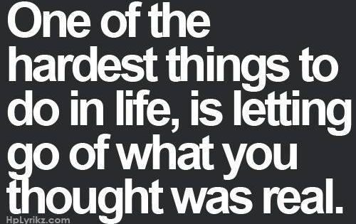 One of the hardest things to do in life Quotes