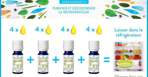 Diy purifier et d sodoriser le r frig rateur avec les huiles essentielles - Purifier son appartement ...