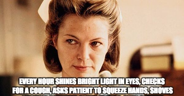 Nurse Ratched Meme Generator Imgflip Funny Nurse Quotes Operating Room Nurse Humor Nurse Humor