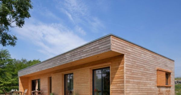 Maisons bois un concept innovant d architecte constructeur architecture - Constructeur maison conteneur ...