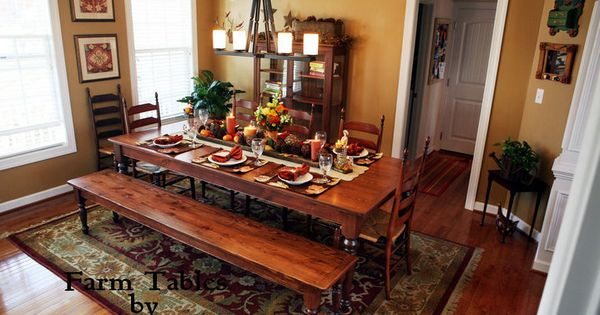 Farm Tables Coffee Table Bench And Pine Furniture On Pinterest
