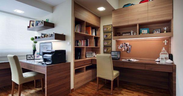 Id es d 39 am nagement de bureau partag pour la maison bureau partag bureau et photos de bureau - Amenagement ontwerp ...