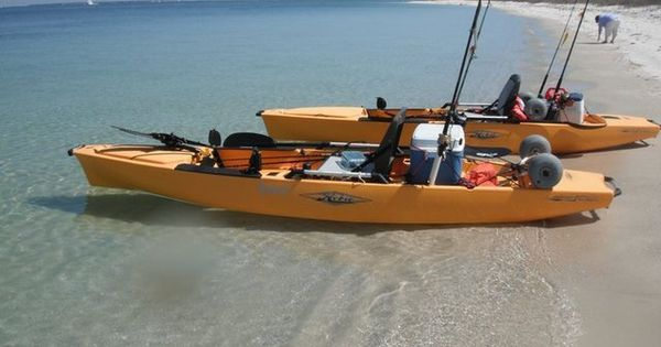 Hobie kayak setup bj 39 s fishing pinterest paddle for Fishing canoe setup