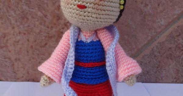 Crochet In Spanish : Mulan, Crochet disney and In spanish on Pinterest