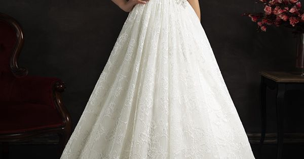 amelia sposa 2015 bridal maritza sleeveless a line lace wedding dress illusion