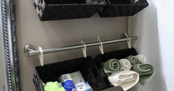 73 Practical Bathroom Storage Ideas | DigsDigs--- kid bathroom