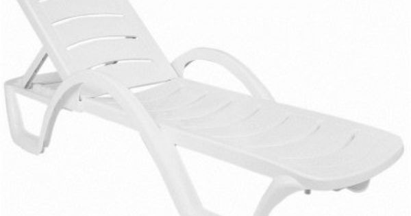 Havana Sunrise Resin Chaise Lounge Isp078 Whi Pool Chaise Pool
