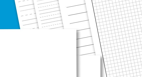 *FREE* Printable Lined Paper for School I sure can use the graph
