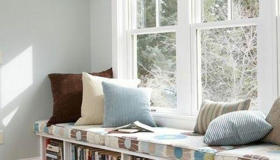 fensterbank innen einbauen 15 beispiele zum nachschauen ideen f r mein zimmer pinterest. Black Bedroom Furniture Sets. Home Design Ideas