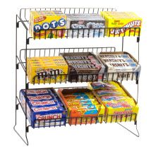 Retail Counter Displays 5 Tier Candy Counter Display Rack