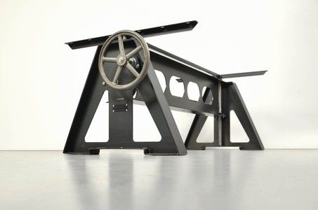Stahl Tischgestell Jacklifter Hohenverstellbar Tischgestell