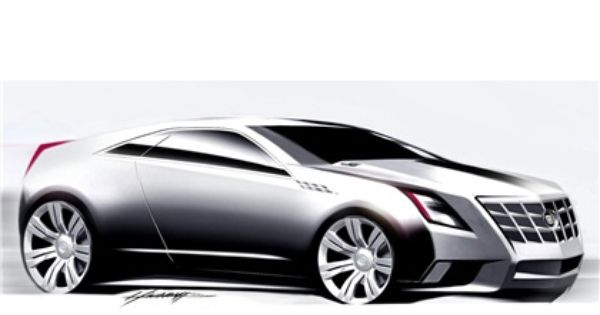 2008 Cadillac Cts Coupe Concept Koncepty