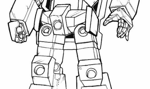 Dessin-a-colorier-transformers.gif 526 × 822 Pixels