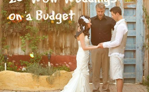 $8000 and under budget weddings