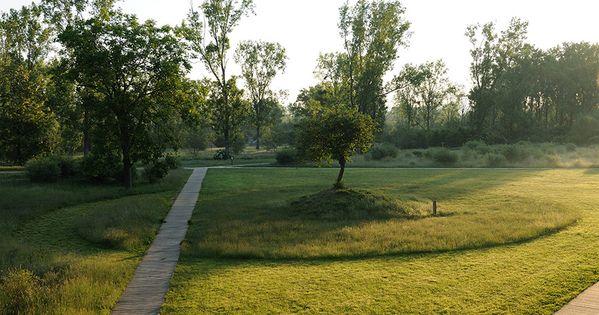 Feyssine park by iles paysage urbanisme 04 landscape for Agence paysage lyon