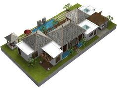 Balinese House Designs And Floor Plans Google Search Eco House Design Beach House Design House Layout Plans
