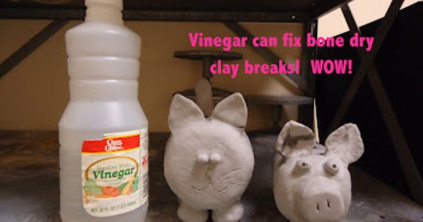 Mini Matisse Vinegar Can Repare Clay Clay Ceramic Clay Dry Clay