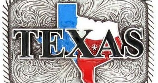 Mfw37924 Texas Western Rectangular Belt Buckle Belt Buckles Texas Western Country Belt Buckles