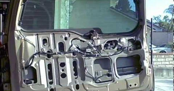 How To Install Replace Rear Door Panel Honda Cr V 02 06 1aauto Com Youtube Honda Crv Honda Honda Cr