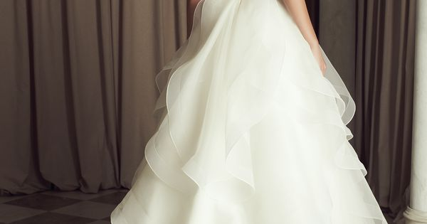 Divine Paloma Blanca Wedding Dresses 2014 Collection. To see more: http://www.modwedding.com/2014/06/20/divine-paloma-blanca-wedding-dresses-2014-collection/ wedding