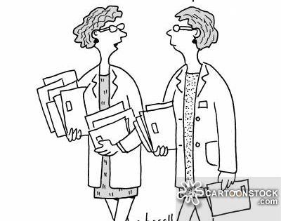 electronic health records cartoons  electronic health