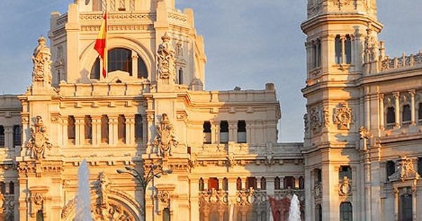 Amazing Snaps The Plaza De Cibeles Madrid Spain Places To See Pinterest Beautiful Post