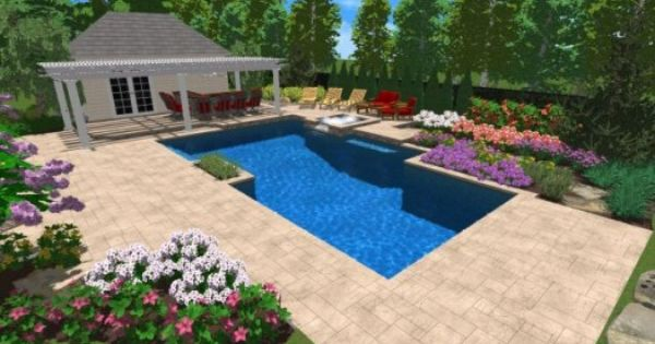 Pin By Kevin W On 3d Swimming Pool Design Work Outdoor Design