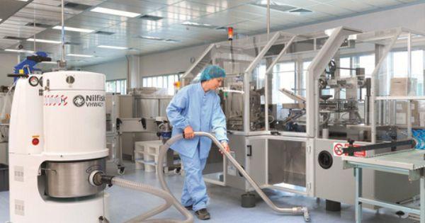 Soluciones De Limpieza Y Aspiradoras Para La Industria