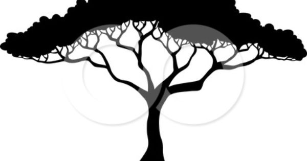 acacia tree coloring pages google search nursery ideas pinterest free vector. Black Bedroom Furniture Sets. Home Design Ideas