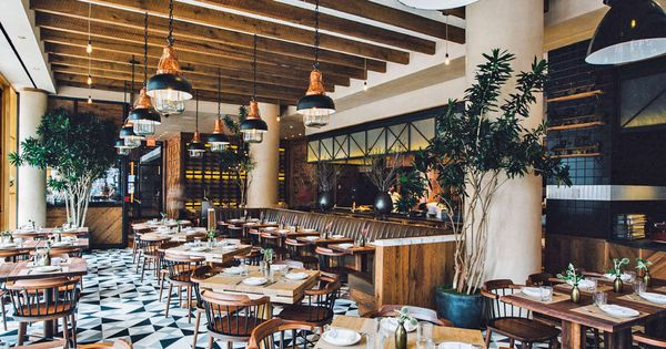 Chef laurent tourondel opens a rustic italian restaurant