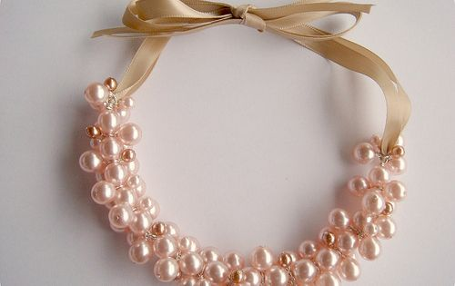 How to make a Pearl Cluster Necklace