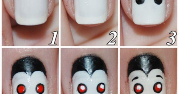 step-by-step-Halloween-nail-art-tutorials--vampiro